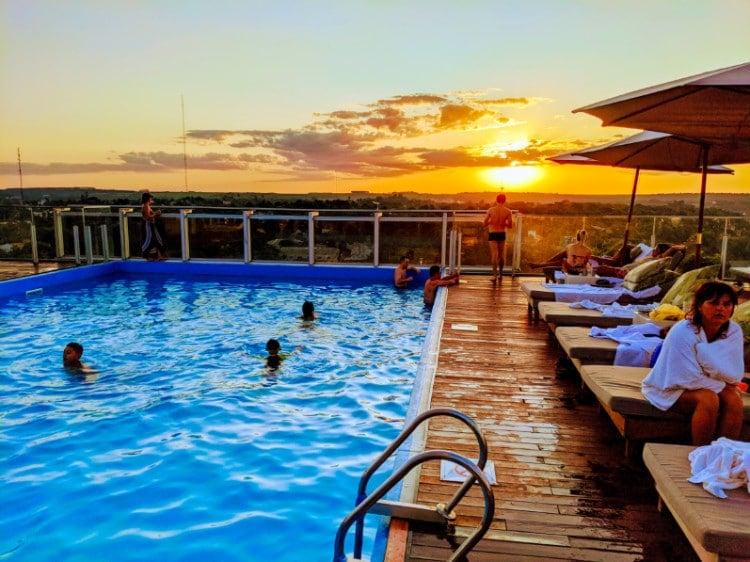 O2 Hotel Iguazu Rooftop Pool