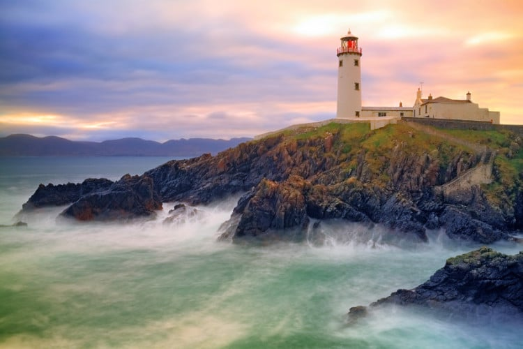 Fanad Lighthouse in Donegle Ireland 7 day itinerary