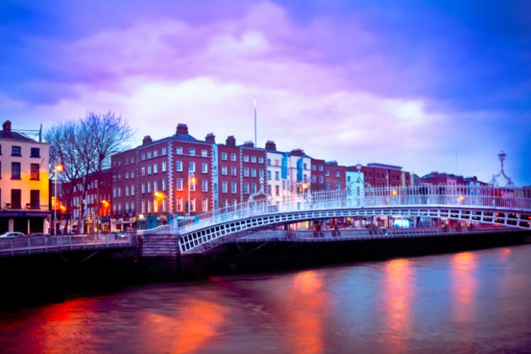 A bridge in Dublin