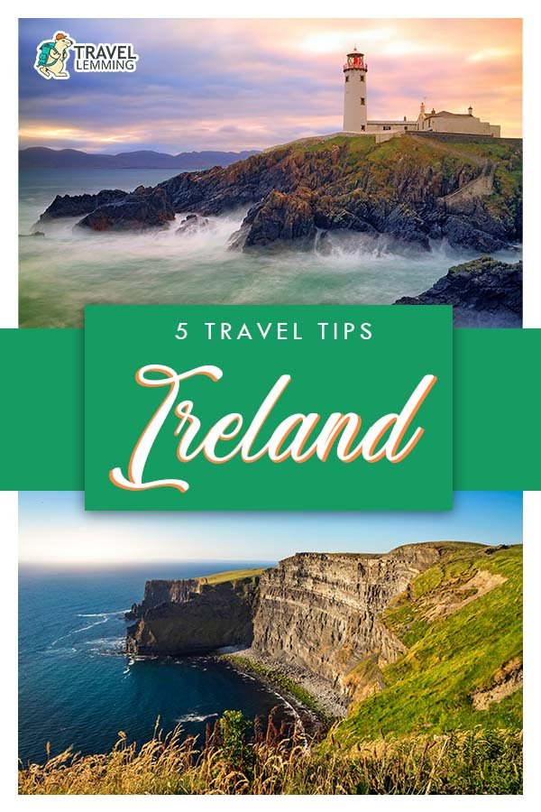 Known as the #EmeraldIsle, #Ireland is a relatively easy place to visit. Nevertheless, here are five useful tips for traveling to Ireland that you should know in order to make the most of your visit to this enchanted land!