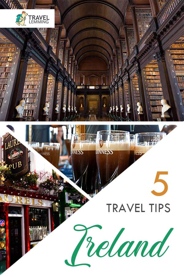 Traveling to #Ireland any time soon? Whether you're wandering the scenic Wild Atlantic Way, stopping by a pub in #Killarney or Cork for a pint, or getting your party on in #Galway, be sure to read through these five useful tips for visiting the #EmeraldIsle that will help you make the most out of your #Irish trip!