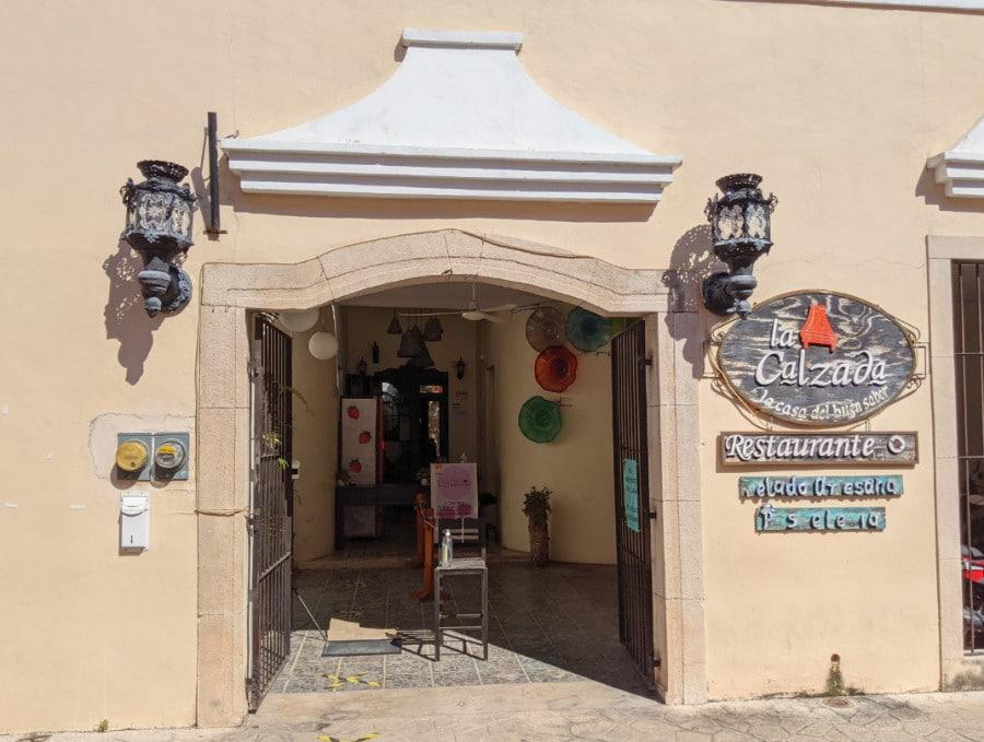Exterior of La Calzada Restaurant