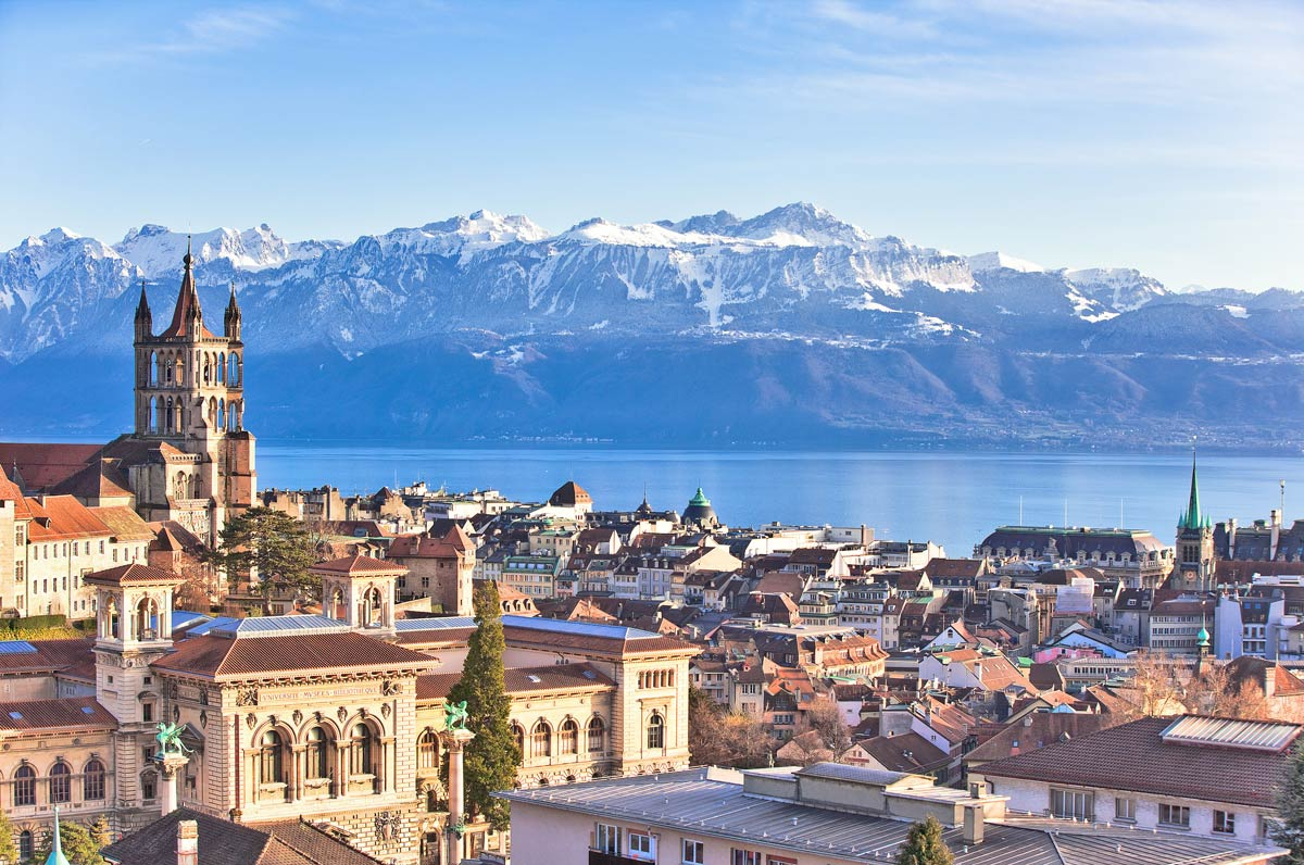 City of Lausanne, Switzerland