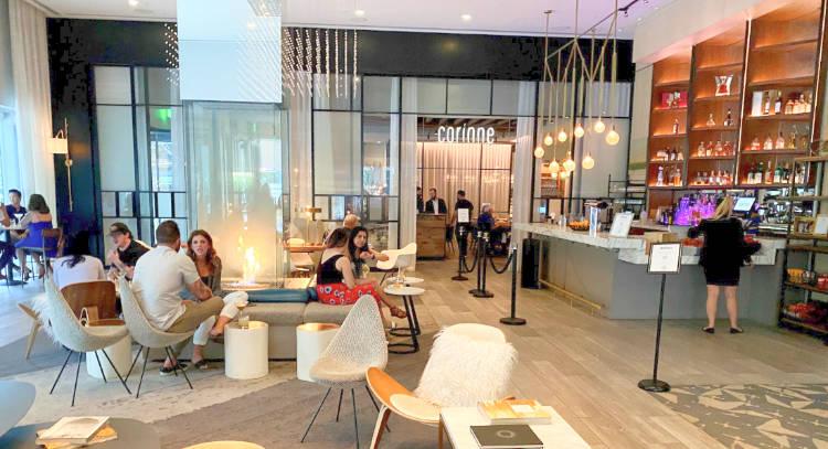 Lobby at Le Meridien Hotel