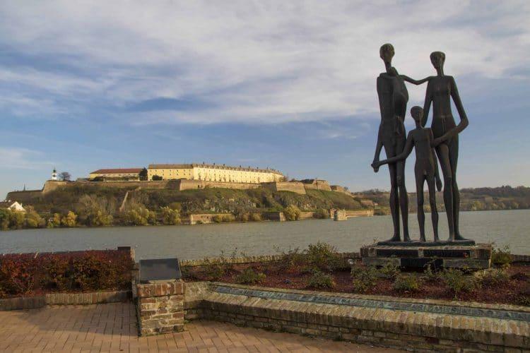 The Family monument in Novi Sad Serbia