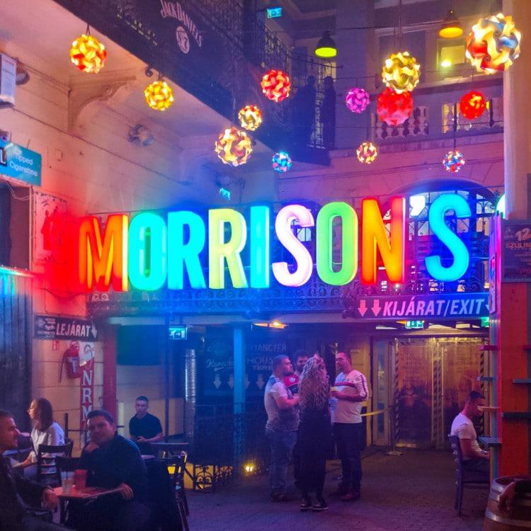 Morrison's Budapest Bar