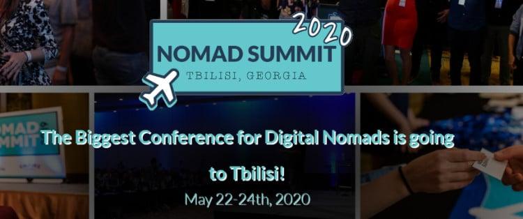 Nomad Summit Tbilisi 2020 Discount Promo Code