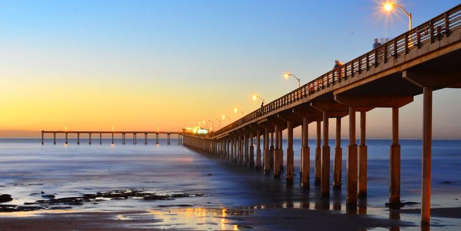 View of the Ocean Beach Pier
