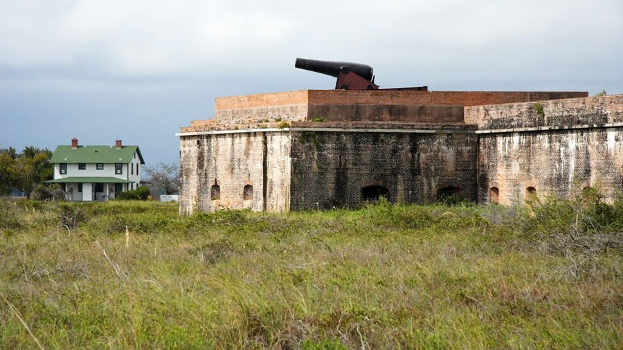 View of Fort Pickens in Pensacola