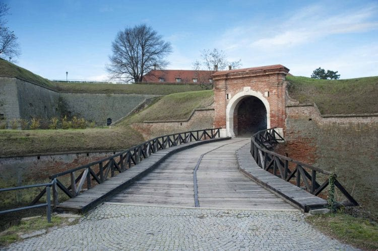 Tunnel into Petrovaradin Fortress Catacombs
