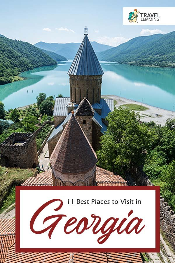 Georgia offers everything a traveler could want: affordable prices, a welcoming culture, excellent and cheap transportation options, incredible mountains, seaside resorts, vibrant city life, and delicious food and drink. So dive into this #TravelGuide of 11 #PlacesToVisit in #Georgia that you shouldn't miss out on. #Europe #Tbilisi #Svaneti