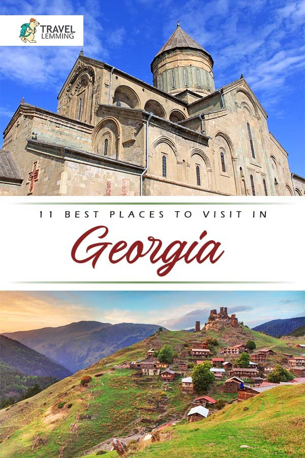 Heading to Europe's #Georgia any time soon? Check out our #TravelGuide of the best #PlacesToVisit in #Georgia that you shouldn't miss out on. From the tiny collection of villages high in the Caucasian mountain region of #Svaneti -- #Ushguli, to Georgia's best city to visit -- #Tbilisi, you're sure to find your new favorite place to visit! #Europe