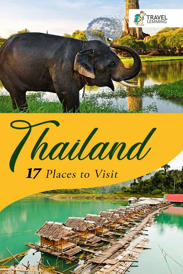 Curious about the best #PlacesToVisit in #Thailand? Then you've come to the right article! Check out our 17 picks among the many amazing tourist destinations Thailand has to offer. As a bonus, we've also listed down #WhereToStay options in each area. #TravelGuide #SouthEastAsia