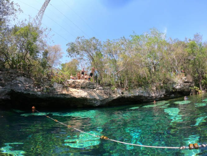 view of a cenote