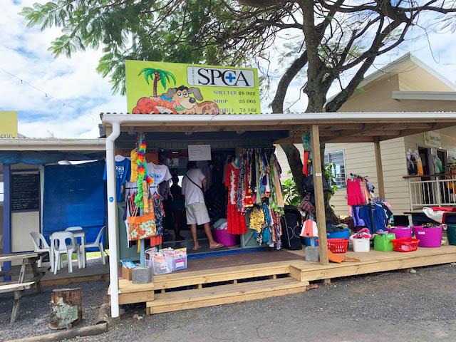 Market in Rarotonga
