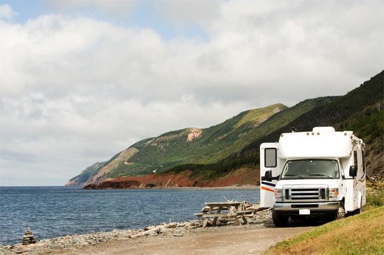 RV at Cape Breton
