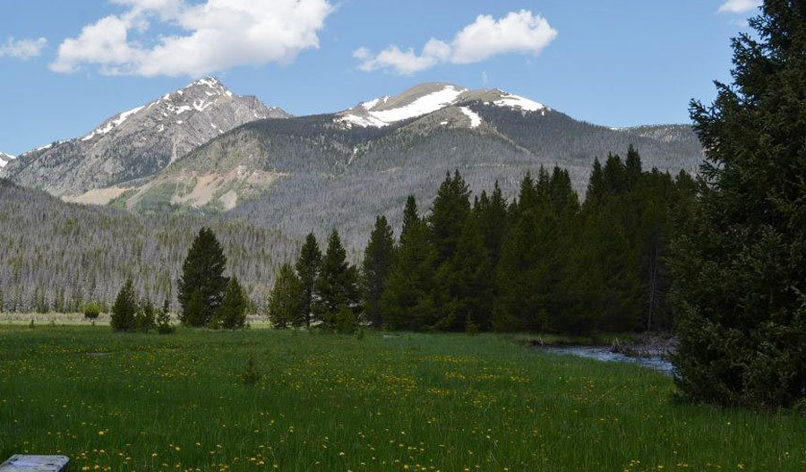 Scenic View of the Rocky Mountains