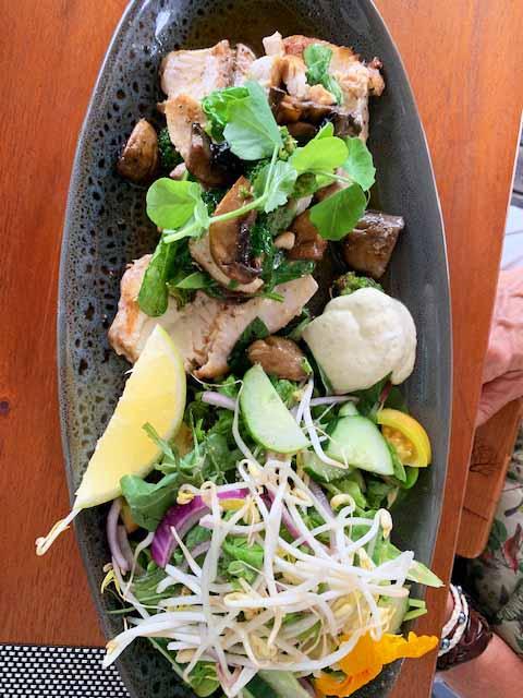 Seafood in Rarotonga