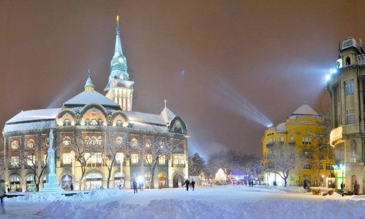 Serbia in Winter