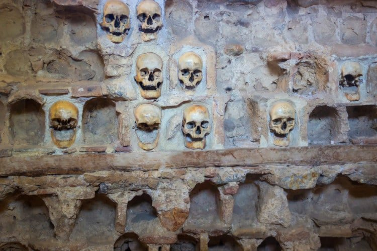 Skull Tower in Nis, a top attraction in Serbia