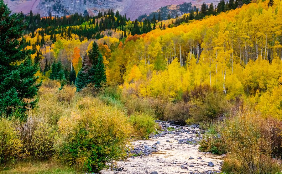 View of the snowmass wilderness