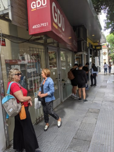 Social Distancing in Argentina