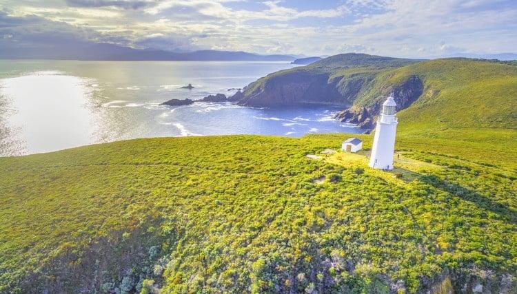 Lighthouse on Bruny Island