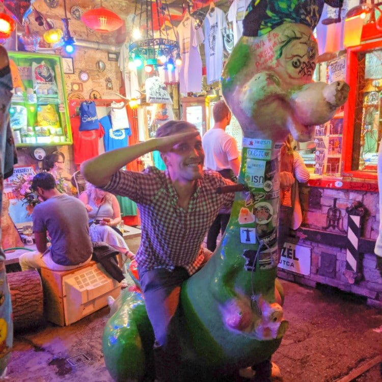 Szimpla Kert, a Top Places to Visit in Budapest
