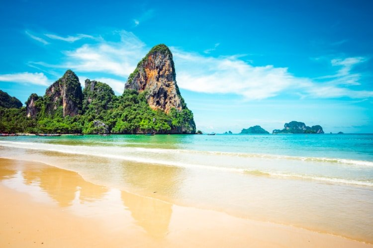 Railay Beach, one of the best places to visit in Thailand
