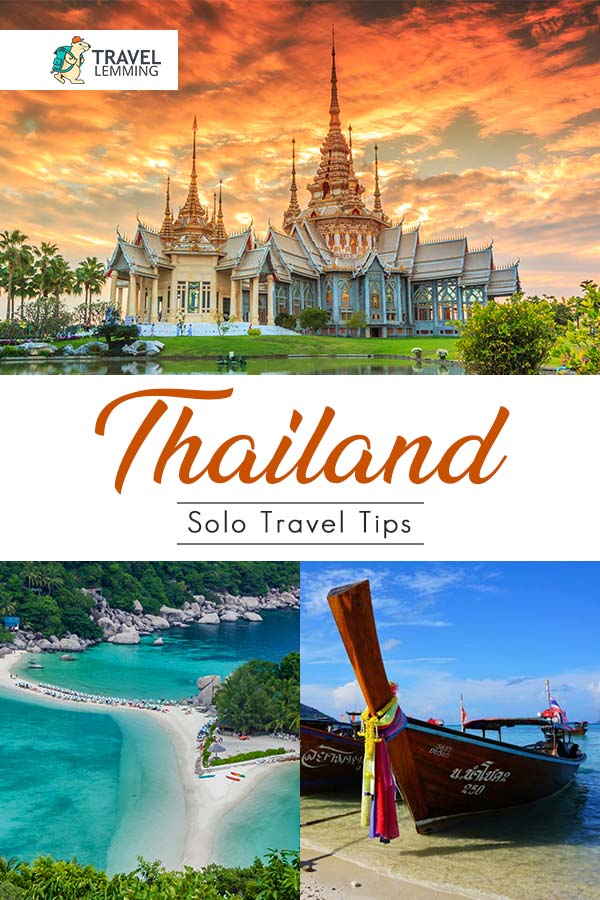 Need advice on taking a solo trip to #Thailand? Fret not. You've landed on the right article. Let us share with you 15 things to know about solo travel in Thailand. We cover topics such as safety, transport, and other practical tips. #SoutheastAsia #Bangkok #SoloTravel #TravelTips