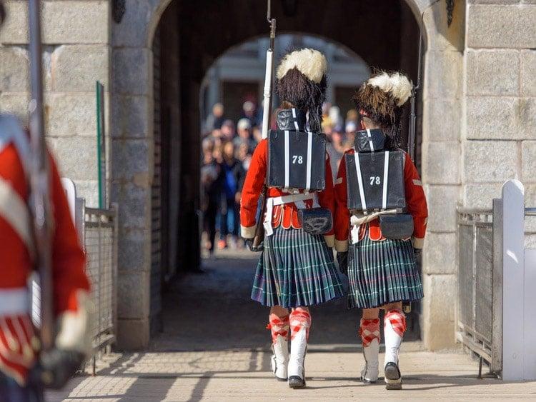 78th Highlanders at Halifax Citadel