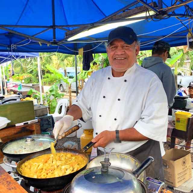Muri Muri night market in Rarotonga
