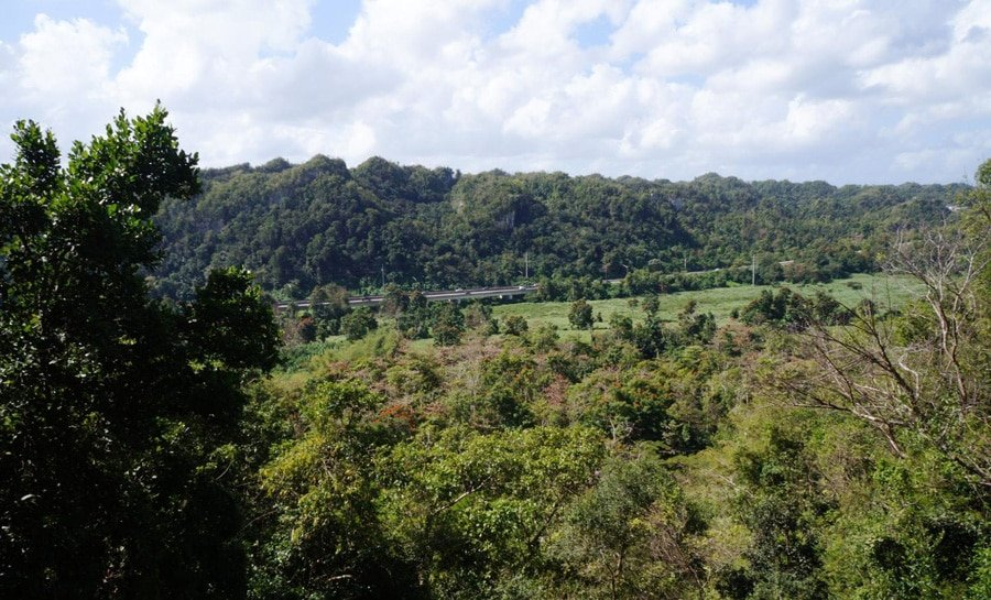 View of the city of Utuado