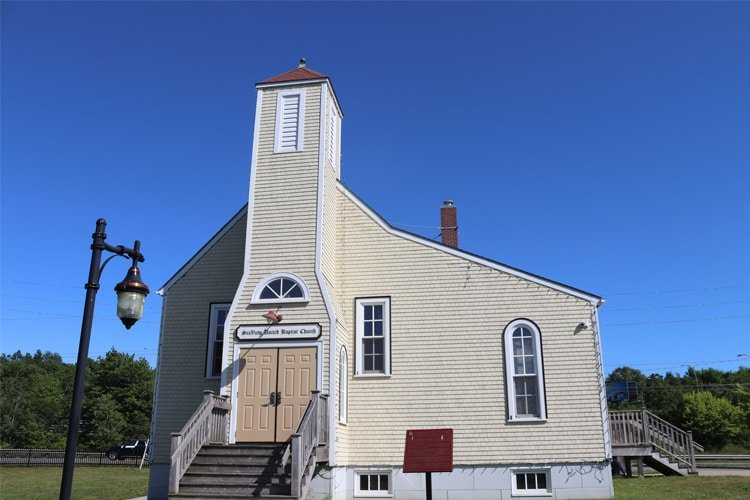 The replica Seaview United Baptist Church - Halifax