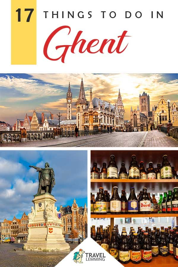 Got a trip to #Ghent #Belgium planned anytime soon? Well, you've landed on the right article! Here is a #TravelGuide on the best activities in Ghent. Whether you're looking for a taste of the world famous #Belgian beer or looking for places in Ghent to experience the historic medieval culture, the city offers so many awesome #ThingsToDo and explore!