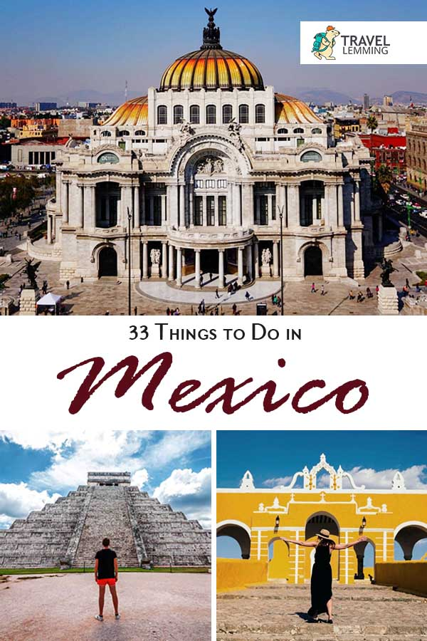 Wondering what are the best #ThingsToDo in #Mexico? Well, you've come to right article. We'll walk you through 33 activities that you shouldn't miss out on during your visit to this vibrant and multi-cultural country. From soaking in the stunning beaches of #Tulum to marveling at #ChichenItza, every type of traveler will surely find something that they'll enjoy! #TravelGuide #Valladolid #Celestun #MayanRuins