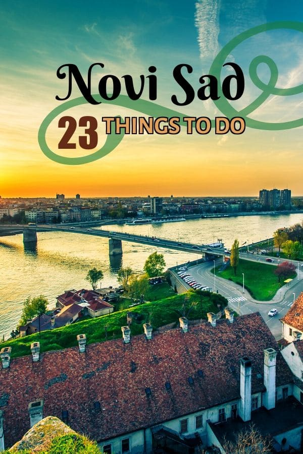 Want to find out the best things to do in #NoviSad? This #TravelGuide has got you covered. From strolling down the #ZmajJovina to relaxing in the #DunavskiPark, from exploring the #Petrovaradin Fortress Catacombs to wine testing in Sremski Karlovci, you'll get to know this laid back #Serbian city through the eyes of a local.
