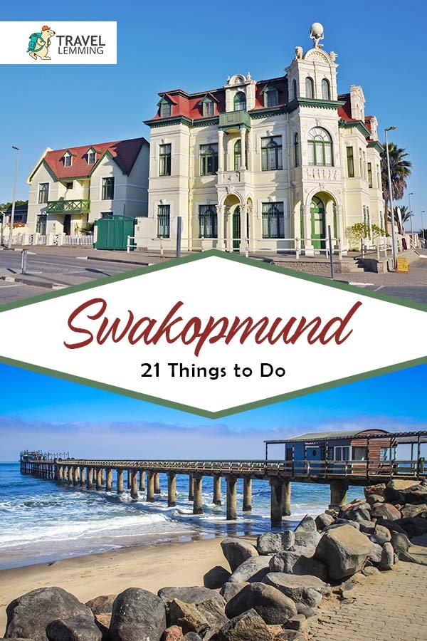 Swakopmund, the city next door to Skeleton Coast, has an unexplained history with not as much tourism it deserves. That is why we bring you this #TravelGuide of the 21 best #ThingsToDo in #Swakopmund #Namibia. From taking an ATV through a desert to dropping from the sky on a skydiving adventure, you won't run out of exciting activities for your most memorable vacation yet! #Africa