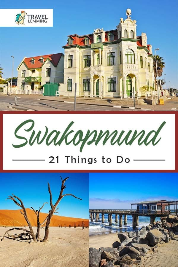Swakopmund is perfect for any traveler and ought to be high on any list of the best #PlacesToVisit in #Africa. In this #TravelGuide, you'll find out the best #ThingsToDo while you visit one of the most traveler-centric cities in #SouthAfrica. Oh, and you must make sure not to miss out on number thirteen! #Namibia
