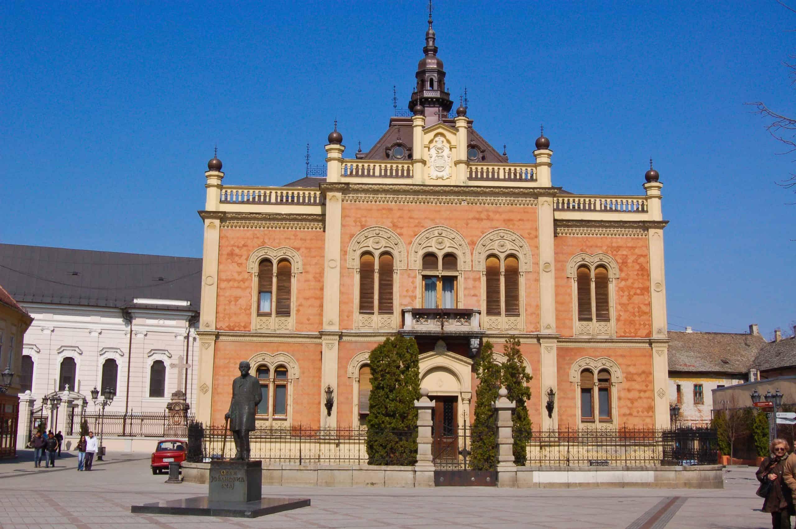 Museum in Novi Sad Serbia