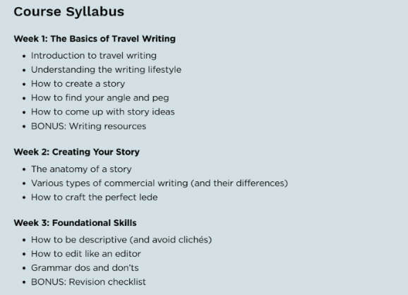Review of How to Become a Travel Writer Superstar Blogging Course Nomadic Matt