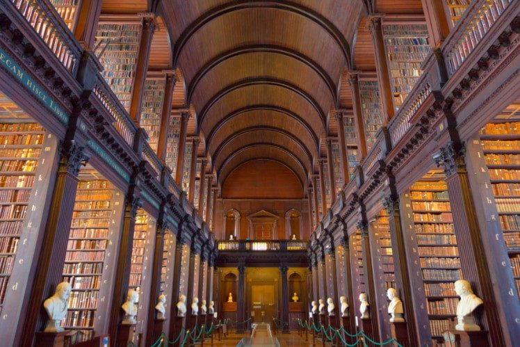 Book s at the Trinity College Library