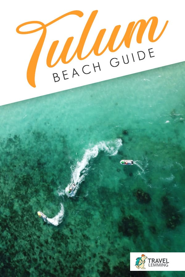 Tulum beach is known to be one of the best beaches in #Mexico and possibly even the world. But technically speaking, there are actually several different beaches in #Tulum. Dive into this Tulum Beach Guide to know what are the best beaches to visit, depending on what kind of beach bum you are.