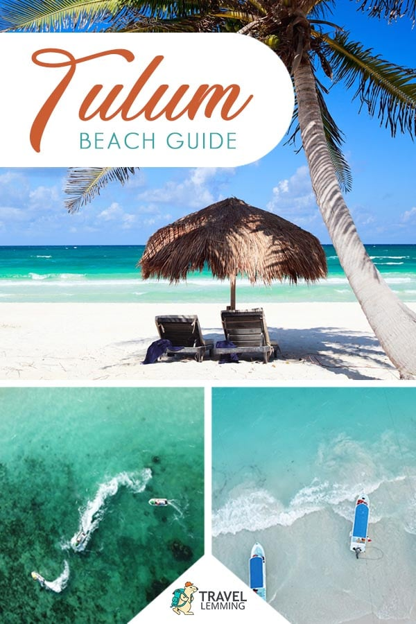 Ready for a trip to #Tulum #Mexico? You've come to the right article. In this comprehensive Tulum beach guide, you'll learn about the best beaches in Tulum, practical information for visiting the Tulum Beach, where to stay, and as an added bonus, we've listed down other amazing things you can do in Tulum. #Cenote #ChichenItza #RivieraMaya