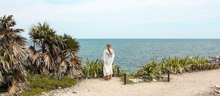 The Author on Tulum beach