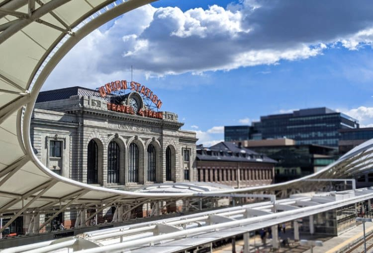 View of Denver's Union Station