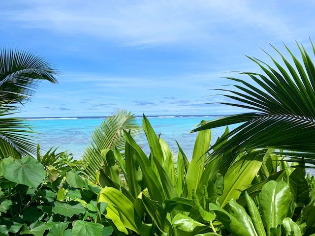 The beach is one of the top things to do in Rarotonga