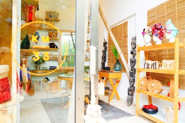 Boutique store in Tulum