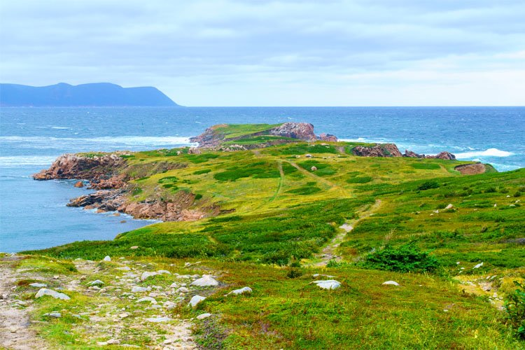 White Point Hiking Trail in Cape Breton
