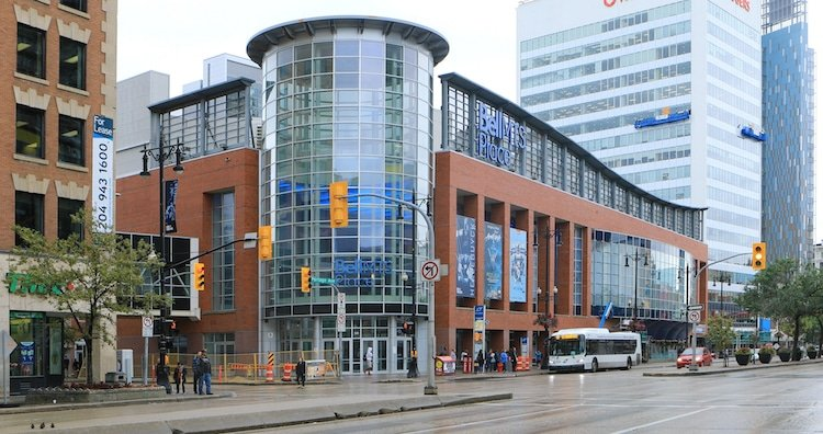 The Bell MTS Place in Winnipeg, Canada
